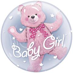 Bubble Ballon Baby girl