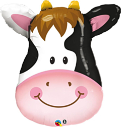 Folieballon Super Shape Cow
