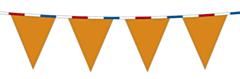 Vlaggenlijn Oranje met RWB Lint 10m