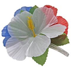Hawai Haarclip bloemen RWB