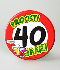 Bierviltjes - 40 jaar