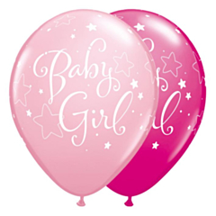 Ballon Baby Girl Ass Pink& Berry