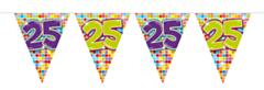 Vlaggenlijn Birthday Blocks 25