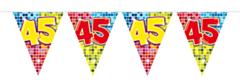 Vlaggenlijn Birthday Blocks 45