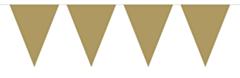 Mini Vlaggenlijn Goud 3mtr