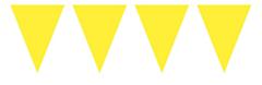 Mini Vlaggenlijn Geel 3mtr