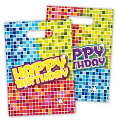 Feestzakjes Birthday Blocks