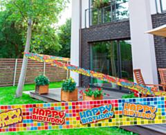 Markeerlint Birthday Blocks 7mtr