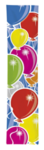 Banier Balloons Multi 300x60cm