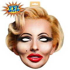 EVA Masker Blonde Vrouw XXL