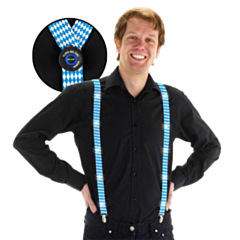 LED Suspenders Oktoberfest