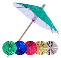 Parasol Prikkers 10cm Metallic