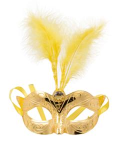 Masker Metallic Goud