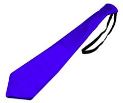 Stropdas Metallic Blauw