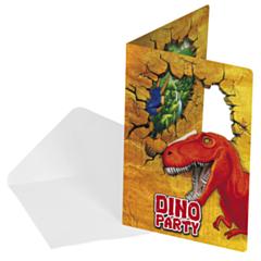 Uitnodigingen Dino