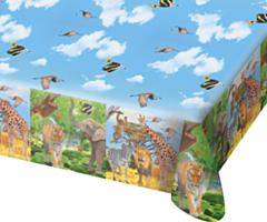Tafelkleed 180x130cm Safari Party