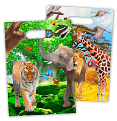 Feestzakjes Safari Party