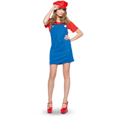 Loodgieter Super Mario vrouw