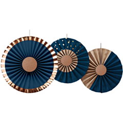 Honeycombs Elegant True Blue
