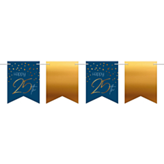 Vlaggenlijn Elegant True Blue 25 Jaar