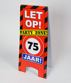 Warning Sign - 75 jaar