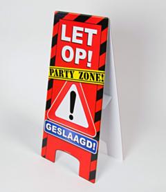 Warning Sign - Geslaagd