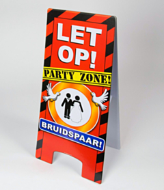 Warning Sign - Bruidspaar