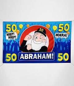 XXL Gevel vlag - Abraham
