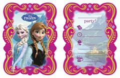 Uitnodigingen Frozen