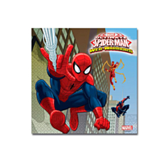 Servet Spiderman Warriors 33x33