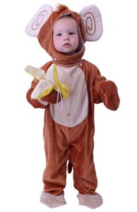 Baby aapje met banaan 116