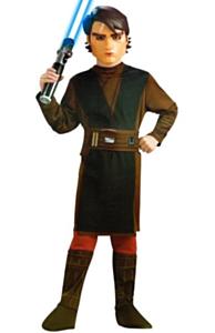 Anakin Skywalker bruin/groen 3-4 jaar