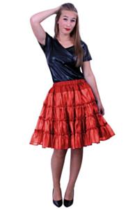 Petticoat 5 laags rood 40-42