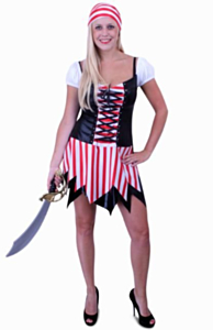 Piraat vrouw 36-38