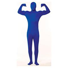 Skinny kostuum blauw L-XL
