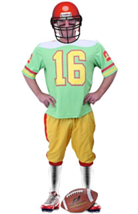 American Football Player volw. 56