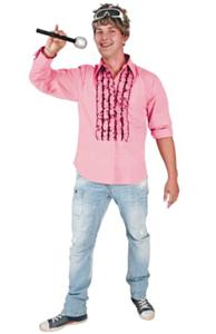 Jabothemd katoen roze 50