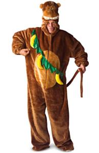 Aap pluche + bananen S-M