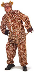 Giraffe pluche + capuchon 58