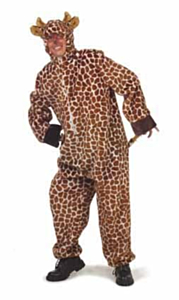 Giraffe pluche + capuchon 54-56