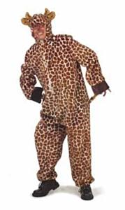 Giraffe pluche + capuchon 50-52