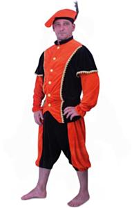 Piet pak oranje-zwart pansamt 48-50