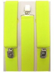Bretel fluor geel