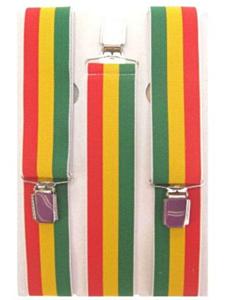 Bretel rood/geel/groen