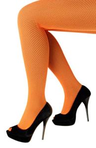 Netpanty fluo oranje