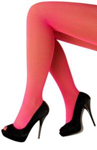 Netpanty fluo pink