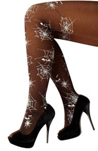 Panty spinneweb print