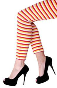 Doruslegging rood-wit-geel L-XL