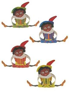 Piet op hoofdband assortie