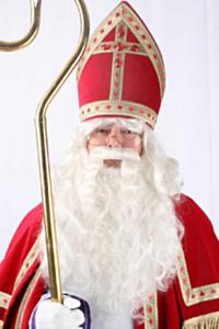 Sinterklaas pruik baard + losse snor speciaal haarwerk